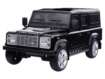 A Ride On Defender 12V Painted Finish - Black