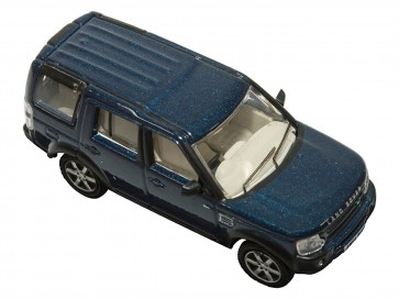 Die-cast 1:76 Land Rover Discovery 3 Cairns Blue
