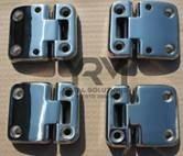 Defender / Series 3 Stainless Steel Door Hinges Set of 4  Second row DA1952