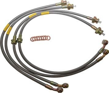 Britpart Discovery 2 with ABS plus 150mm Brake Hose Kit
