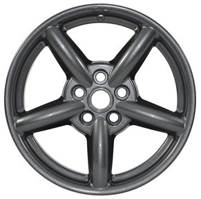 Zu alloy 8 x 18 anthracite gloss