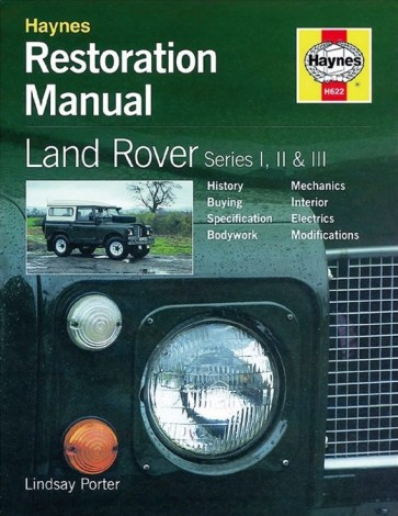 Haynes Restoration Manual Series 1, 2, 2a & 3