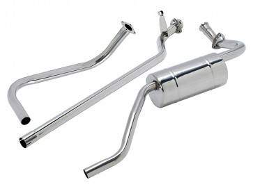 """Double 'S' stainless steel exhaust system Series 1 - 80"""""""