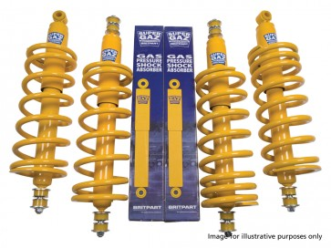 Britpart Super Gaz Suspension Kit Standard Height Heavy Duty Defender (94 on) / Discovery 1 / Range Rover Classic (86 on)