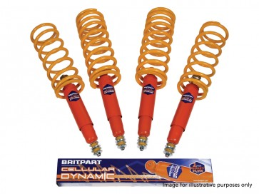 Britpart Cellular Dynamic Suspension Kit 25mm Light Duty Defender (94 on) / Discovery 1 / Range Rover Classic (86 on)
