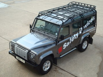 Safety Devices Explorer Roof Rack 110 With Roll Cage - Short Rail