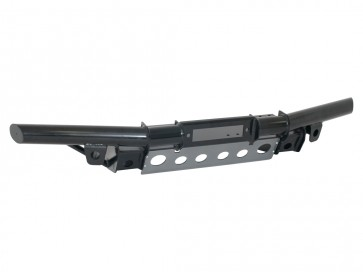 Britpart Defender Tubular Winch Bumper - air-con