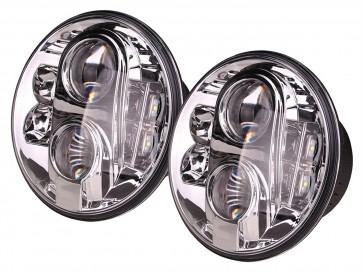 "7"" Britpart Lynx Eye LED Headlights - LHD"