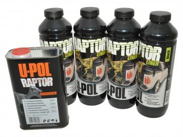 Raptor 4 Litre Kit - Black Finish