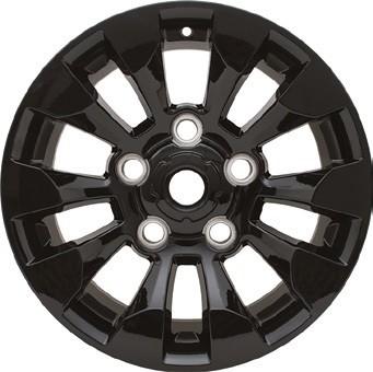"Sawtooth Alloy Wheel - Black 18"""
