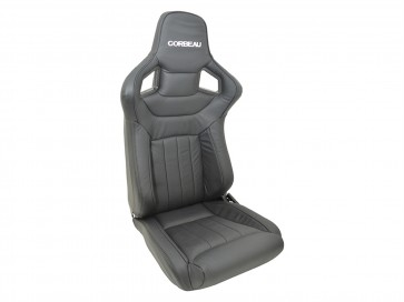 Corbeau Sportline RRS Low Base Defender Seats - Dakota Leather
