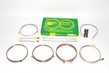 "DA7431 Brake Pipe Kit - Series 3 LHD 109"" Single Line 4 & 6 Cylinder"