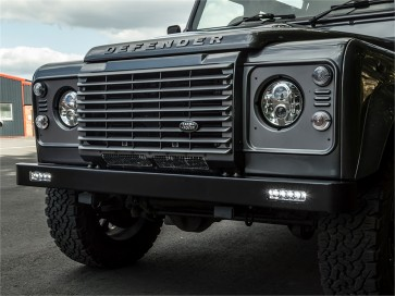 Britpart Defender Bumper With Ring DRL Lights