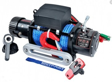 Britpart 12000i 24V Winch with Synthetic Rope