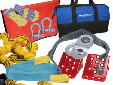 Britpart Winching Kit - Advanced