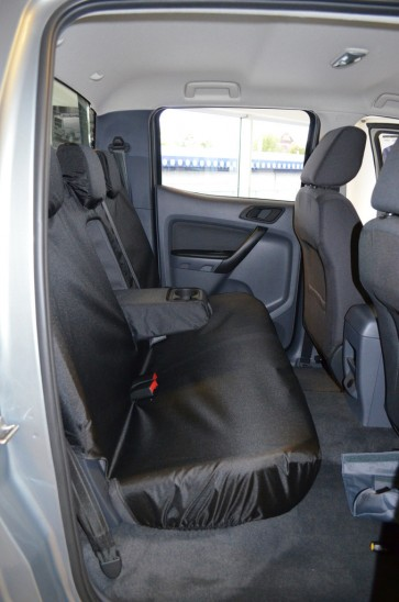 Ford Ranger (2012 to current) Double Cab Rear Seat Seat Covers