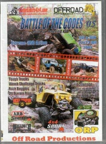 Battle Of The Codes 2005  Dvd