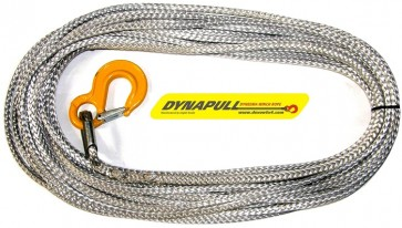 Dynapull 11mm x 100ft (30m) Winch Rope For Most Winches - Graphite