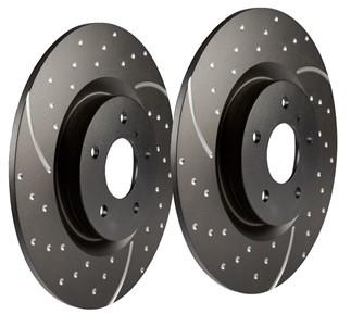 EBC Performance Brake Discs suits Freelander 2 - petrol