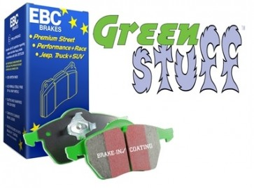 EBC Green Stuff Brake Pads suits Discovery 1 - with sensor and Range Rover Classic - from 1986