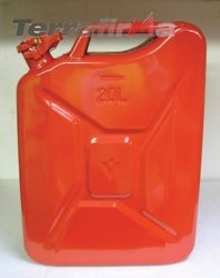 Jerry Can 20 Litre Red