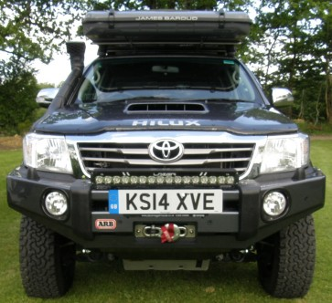 ARB Sahara Winch Mount Bumper Toyota Hilux 2011 to 2015