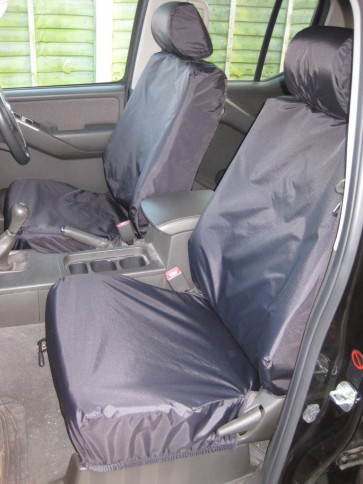 Nissan Navara (2005 to current) Front Pair Single Seats Seat Covers