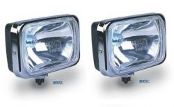 IPF 800 rectangular driving lights 130w and loom - Pair