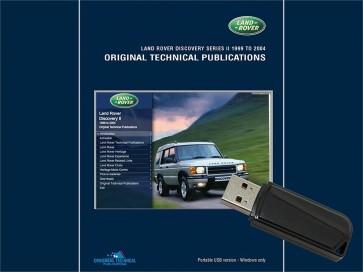 Discovery 2 - 1999 - 2004 Original Technical Publication USB