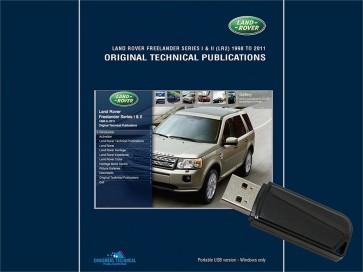 Freelander 1 & 2 - 1998 - 2011 Original Technical Publication USB