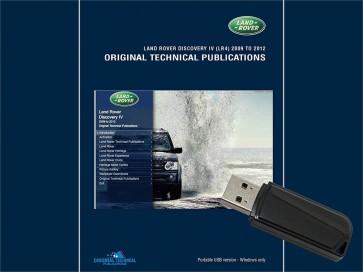 Discovery 4 - 2009 - 2012 Original Technical Publication USB
