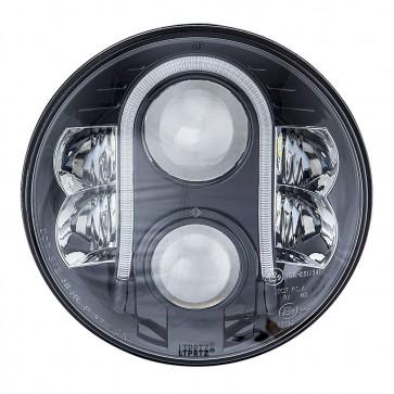 "LTPRTZ 80w 7"" Black Headlight Reflector LHD"