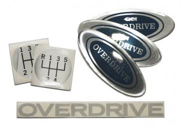 Overdrive Badge Set