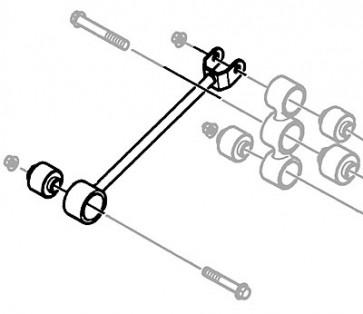Watts Linkage Arm & Bracket RGD100450