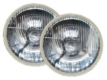 """7"""" Sealed Beam To Halogen Conversion Kit  - LHD"""
