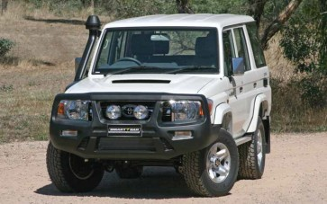ARB Smart Bar Bumper Toyota Landcruiser 70 Series 03/07 On White (No Winch)