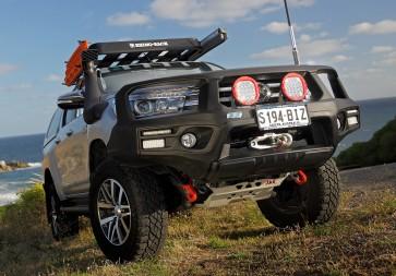 ARB Smart Bar Winch Bumper Toyota Hilux Revo 15 On SR5 Model Black (Winch)