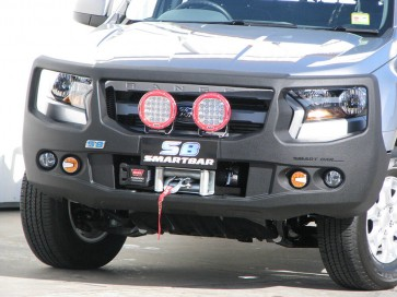 ARB Smart Bar Bumper Ford Ranger PX2 07/15 On White (Winch)