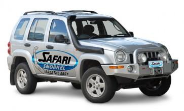 Safari Jeep Cherokee KJ 2.8D Snorkel