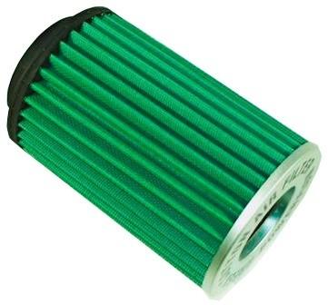 Green Performance Air Filter 65mm Neck 180mm Tall