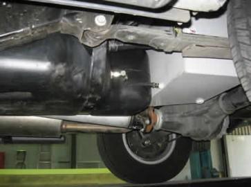 Long Ranger Auxiliary Fuel Tank - Nissan Navara D40 2005 on