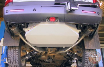 Long Ranger Auxiliary Fuel Tank - Land Rover Discovery 3 & Discovery 4 104l