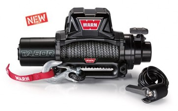 Warn Tabor 10K-S 12V With Synthetic Rope