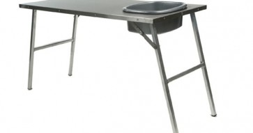 Front Runner Stainless Steel Prep Table With Basin And Mount Kit