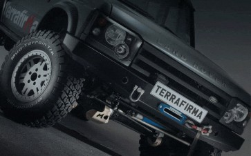 Terrafirma Discovery 2 winch bumper (includes swivel recovery eyes and washer bottle guard)