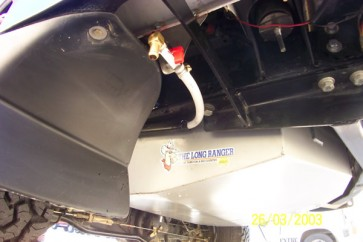 Long Ranger Replacement Fuel / Water Tank - Toyota Land Cruiser 100 Series