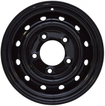 "Land Rover Wolf Style Wheel 6.5x16"" - Black VPLDW0095PVT"