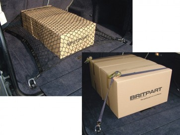 Range Rover L322 Loadspace Net / Ratchet Strap (x2) Kit VPLMS0302