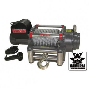 Warrior 20000 SAMURAI 24v Electric Winch With Steel Cable