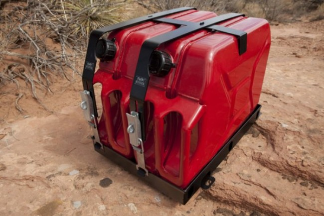 Arb Roof Rack Double Jerry Can Holder Devon 4x4